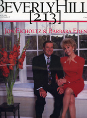 Beverly Hills 213 Magazine Barbara Eden