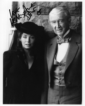 Lesley-Anne Down James Stewart