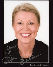 Leslie Easterbrook autograph