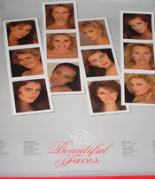 Worlds Most Beautiful Faces Poster