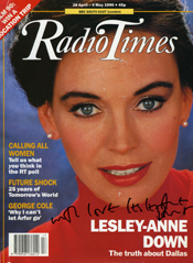 FanSource Celebrity Sales Radio Times Magazine