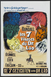Seven Faces of Dr. Lao Belgium Movie Poster