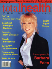 Barbara Eden Total Health for Longevity Magazine