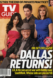 FanSource Celebrity Sales TV Guide Linda Gray